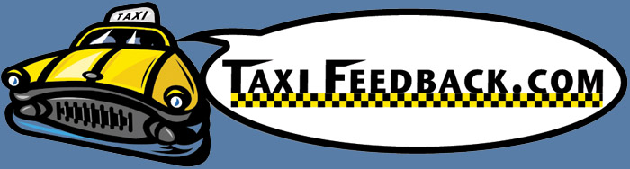 Leave feedback for your taxi driver